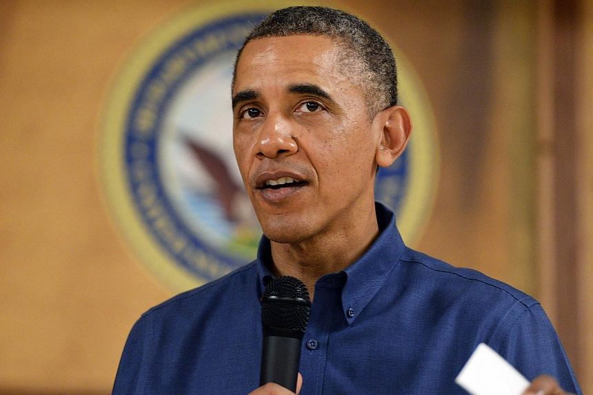 President Barack Obama called Senator Jack Reed, Democrat of Rhode Island, and Senator Dean Heller, Republican of Nevada, on Friday to back their proposal to extend emergency unemployment benefits for three months. -- FILE PHOTO: AFP