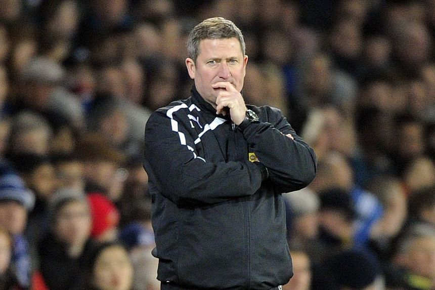 Cardiff City's assistant manager David Kerslake is pictured during their English Premier League soccer match against Sunderland at Cardiff City Stadium in Cardiff, Wales, on Dec 28, 2013. Cardiff City caretaker manager David Kerslake said he had no p