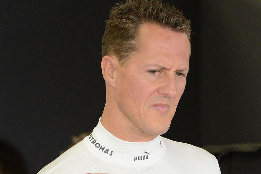 Formula One legend Michael Schumacher may have retired in 2012 after a glittering career but his love for speed and danger has now led to a serious head injury while skiing in France. -- FILE PHOTO: AFP