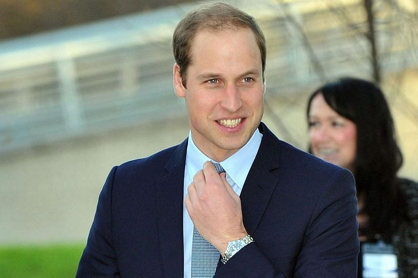 Britain's Prince William, Duke of Cambridge, arrives for a visit to Haven Point Leisure Centre in South Shields, north-east England on Nov 22, 2013. Prince William is to become a full-time student of agricultural management for 10 weeks as he forges