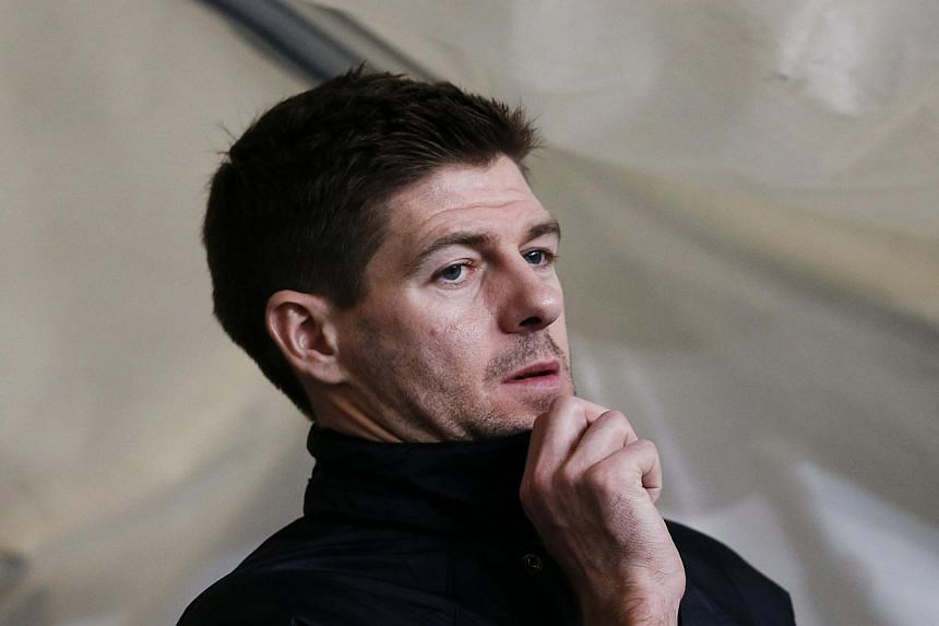 Liverpool's Steven Gerrard waits in the tunnel before their English Premier League soccer match against Manchester City at the Etihad stadium in Manchester, northern England on Dec 26, 2013.Liverpool managerBrendan Rodgers on Monday revea