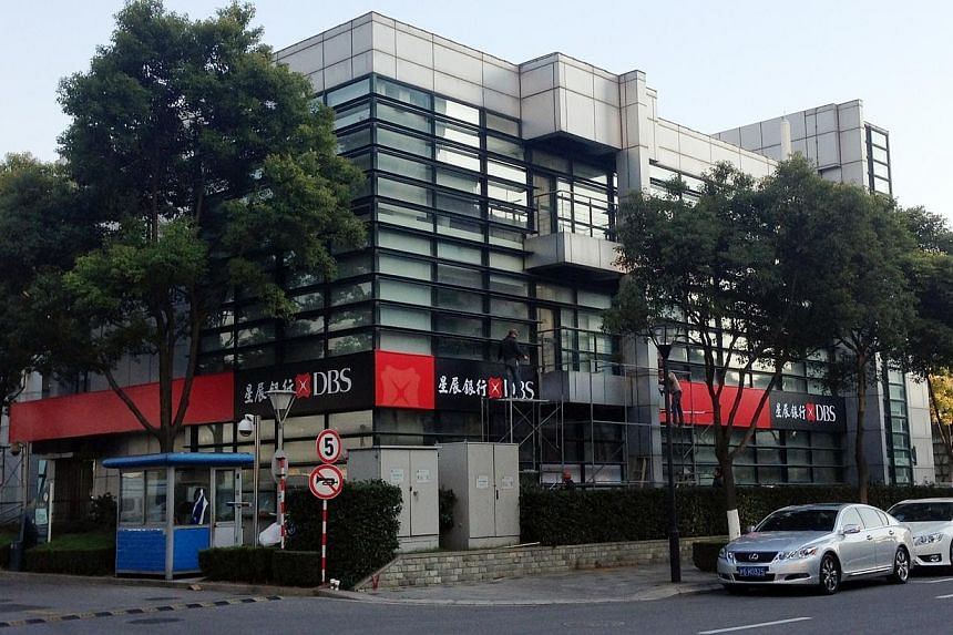 DBS Bank (China)'s sub-branch in the Shanghai free trade zone received approval from Chinese authorities on Tuesday, Dec 31, 2013, to commence operations. -- PHOTO: DBS
