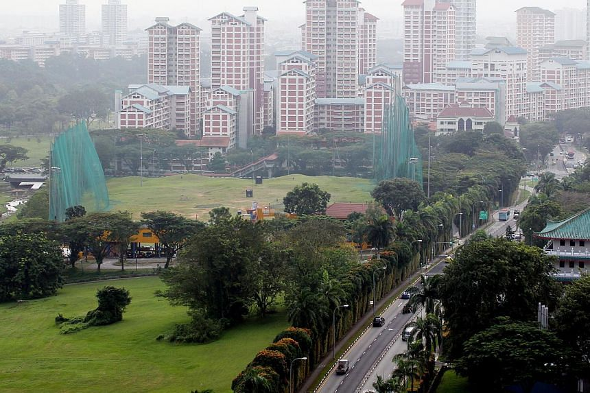 The site for the new JC at the junction of Sin Ming Avenue and Marymount Road.