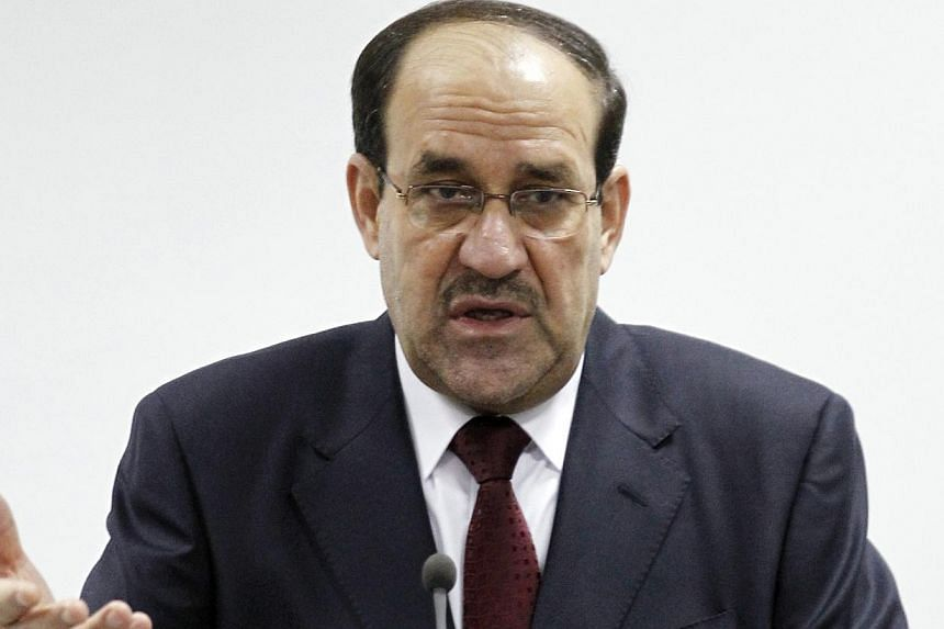 Iraqi Prime Minister Nuri al-Maliki on Wednesday, Jan 1, 2014, reversed a decision to withdraw soldiers from Anbar cities and ordered reinforcements to the mainly Sunni Arab province to tackle attacks by militants. -- FILE PHOTO: REUTERS