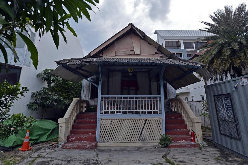 The house on Carpmael Road, which Madam Wan Chin Neo bought for $1,900 in 1937, was sold last year for $4 million. -- PHOTOS: DESMOND FOO, ROCKWILLS TRUSTEE