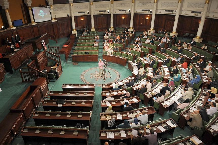 Tunisia's Islamist-dominated constituent assembly compromised on Saturday, Jan 4, 2014, in rejecting Islam as the main source of law as it voted on a new Constitution for the country that spawned the Arab Spring. -- FILE PHOTO: AFP