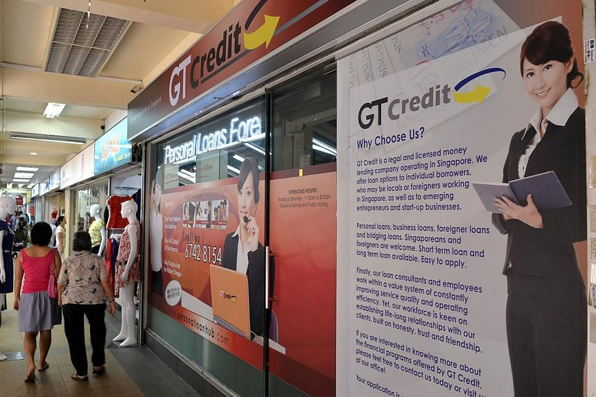 A cluster of credit firms has replaced apparel shops and hair salons in Toa Payoh Central. There were just two in the entire estate in 2009.