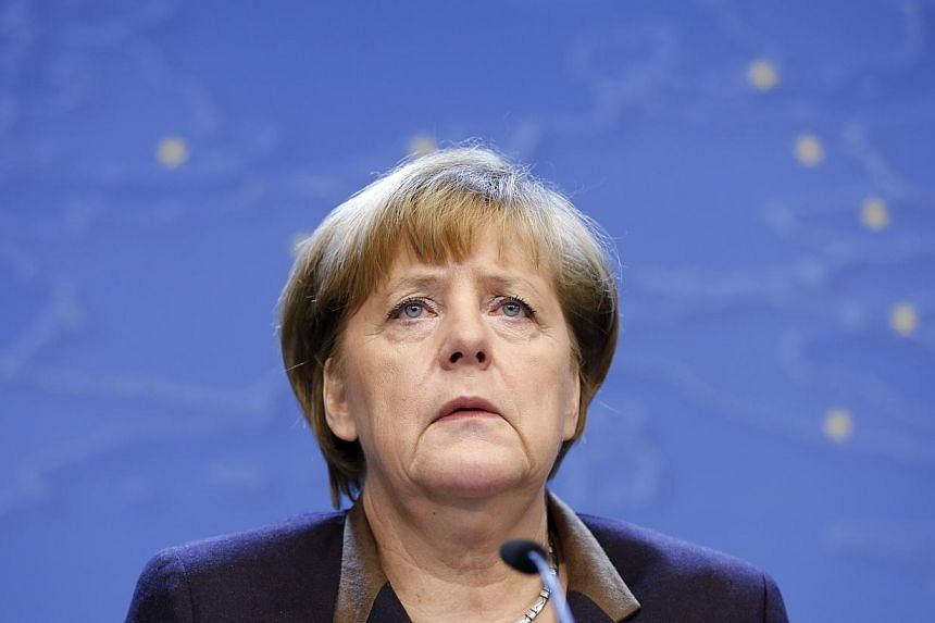 German Chancellor Angela Merkel was injured in a fall while cross-country skiing in Switzerland over the winter holidays and has cancelled meetings in the next three weeks, her spokesman said on Monday. -- FILE PHOTO: REUTERS