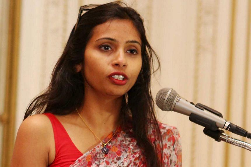 India's Deputy Consul General in New York, Devyani Khobragade, attends a Rutgers University event at India's Consulate General in New York, on June 19, 2013. A lawyer for Khobragade is seeking to postpone proceedings in a visa fraud case that has cre