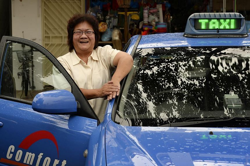 Have a good attitude - that is the best way women cabbies can help themselves, says Madam Susan Quah, 58, who has been driving taxis for 20 years. The association said one of the things it may look into is how to provide better protection for women c