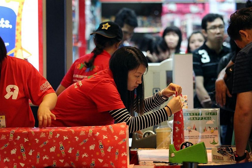 Most parents know their children are too young for certain toys, but buy them anyway, says recent study from the KK Women's and Children's Hospital (KKH). -- ST FILE PHOTO: JASON QUAH
