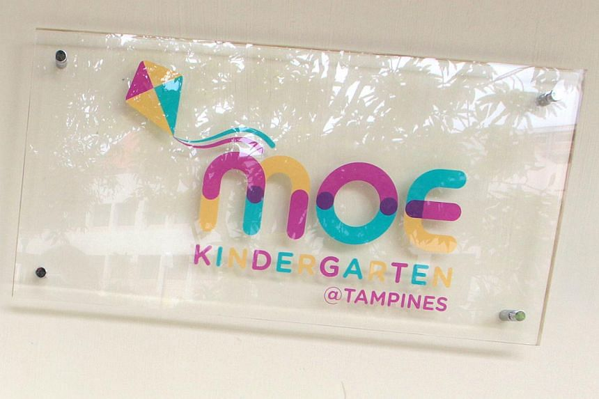 The next five Ministry of Education (MOE) kindergartens will open next year, Education Minister Heng Swee Keat said on Tuesday. -- ST FILE PHOTO: NEO XIAOBIN