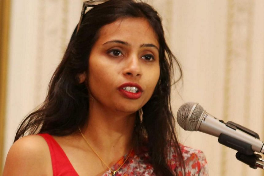 Ms Devyani Khobgragade, the Indian diplomat at the centre of a row with the United States, has been transferred to New Delhi from New York, the Indian foreign ministry announced on Friday. -- FILE PHOTO: REUTERS