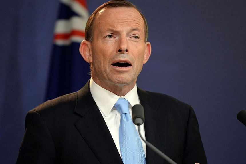 "A ""violent binge drinking culture"" has turned parts of Sydney into ""almost war zones"", Australia's Prime Minister Tony Abbott (above) said on Friday, condemning a rise in alcohol-fuelled incidents rocking Sydney. -- FILE PHOTO: AFP"