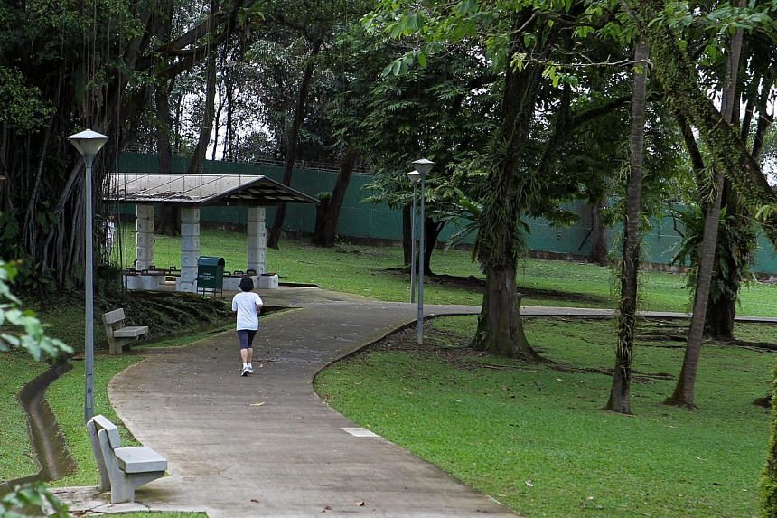 Sheng Siong CEO Lim Hock Chee was instructed to drop off $2 million in Sembawang Park. -- ST PHOTO: SEAH KWANG PENG
