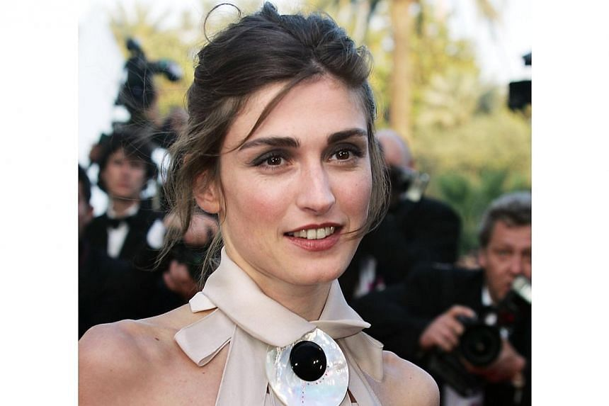 French actress Julie Gayet at the Cannes Film Festival on May 16, 2004. -- FILE PHOTO: AFP