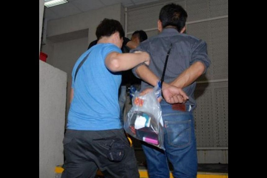 Suspects arrested in CNB's island-wide operation. An island-wide anti-drug operation by the Central Narcotics Bureau (CNB) which started on Tuesday and stretched to Friday saw the arrest of 86 drug offenders and the seizure of a variety of drugs.&n