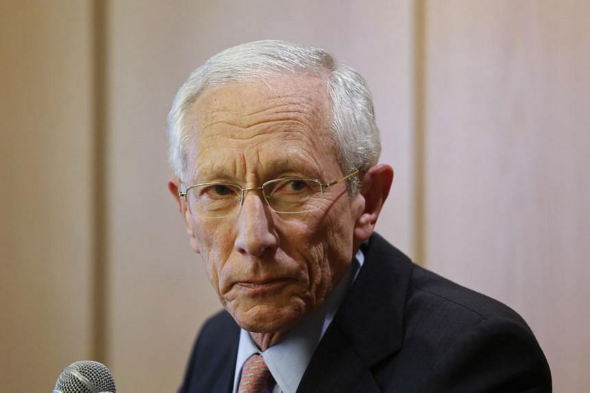 President Barack Obama on Jan 10, 2014 named experienced central banker and internationally respected economist StanleyFischer to serve as the vice chairman of the Federal Reserve, the White House said. -- PHOTO: REUTERS