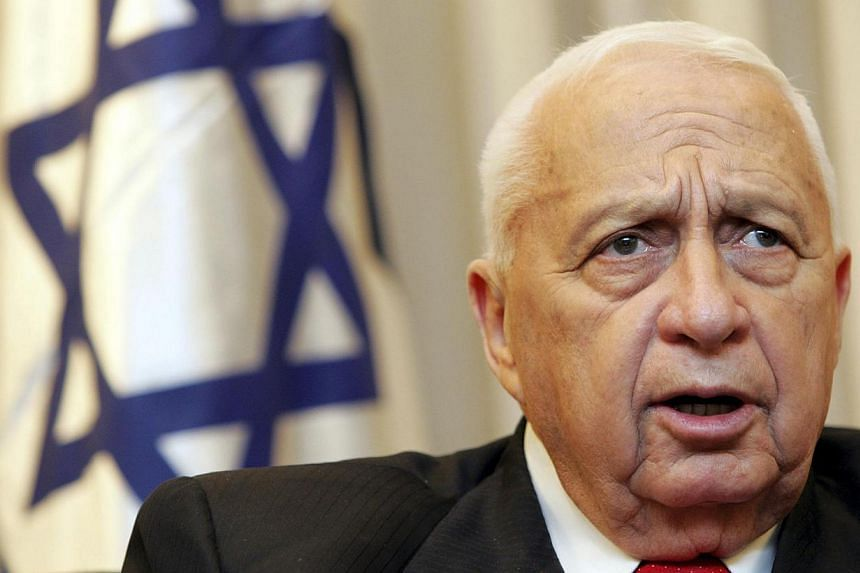 Ariel Sharon (pictured in this 2005 file photo), the former Israeli general and prime minister who was in a coma for eight years after he had a stroke at the height of his power, died on Saturday aged 85, Israeli Army Radio said, quoting a relative o