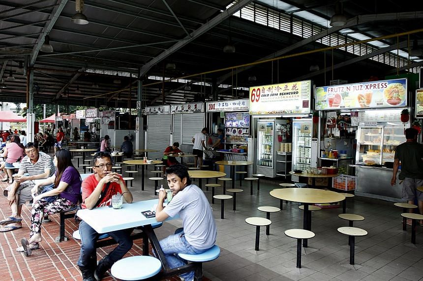 The Block 20 Ghim Moh Road market and food centre is one of four existing hawker centres – the others in Aljunied, West Coast Drive and New Upper Changi Road – that may come under not-for-profit management. The NEA this month called for proposals