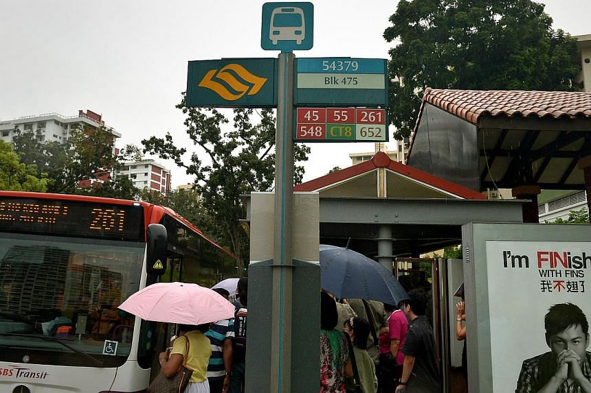 Twenty-four bus routes plying roads in and around Little India, Bugis and Orchard will skip certain bus stops between Jan 16 and 18 because of road closures during the Hindu festival of Thaipusam, SBS Transit said on Monday. -- ST FILE PHOTO: K