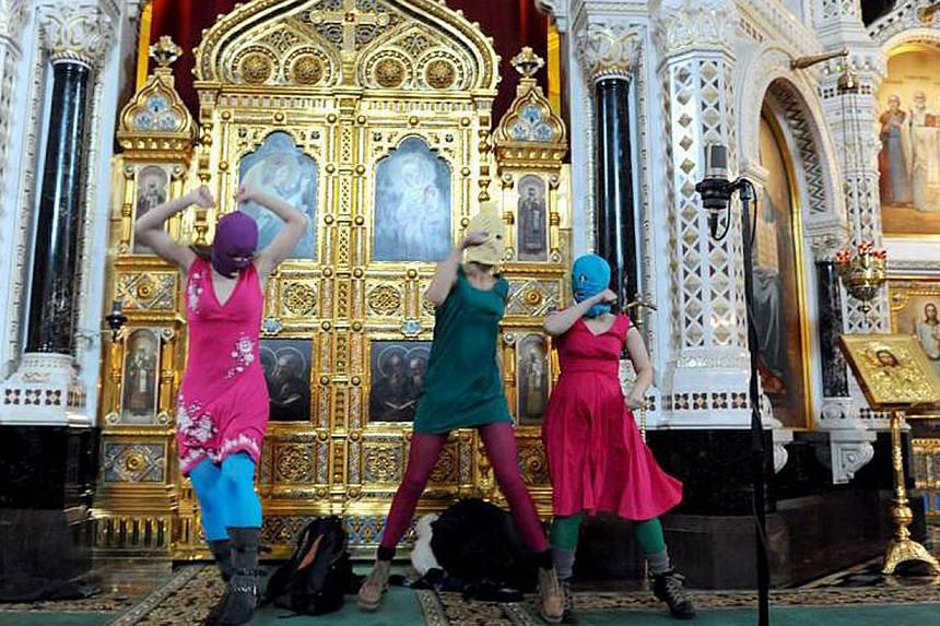 Russia's Pussy Riot is one of the 20 finalists of the new Prudential Eye Awards. Two members of all-female punk band Pussy Riot will be among several international artists who will be in Singapore next week to attend the inaugural Prudential Eye Aw