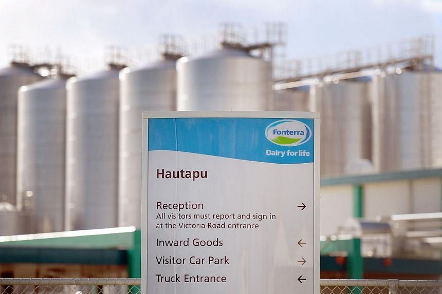 A photo taken on Aug 12, 2013, shows Fonterra's Hautapu dairy factory located near the rural town of Cambridge, some 150km south of New Zealand's largest city, Auckland. Fonterra faced a new contamination scare on Tuesday with the forced recall of ne