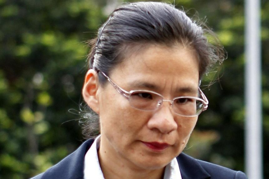 Auditors of City Harvest Church, includingMs Tiang Yii (pictured), had been kept in the loop about the use of church funds, defence lawyers said on Jan 15, 2014. -- ST FILE PHOTO: WONG KWAI CHOW
