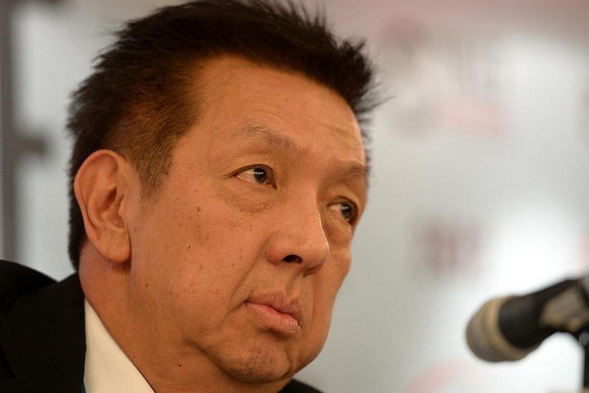 Singaporean billionaire Peter Lim has pledged to spend 50 million euros (S$85 million) on new signings for Spanish football club Valencia during the January transfer window. -- ST FILE PHOTO:MUGILAN RAJASEGERAN