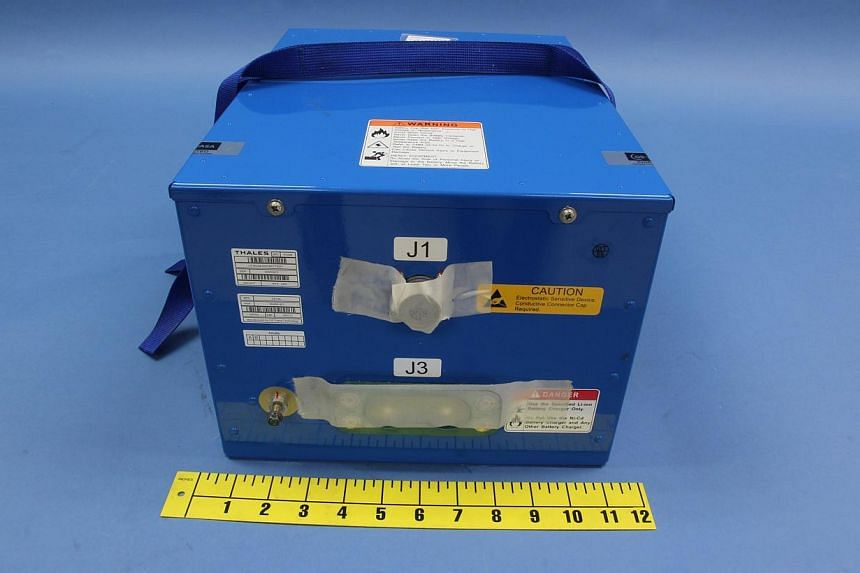 An undamaged battery used in the Boeing 787 Dreamliner jet is seen in this picture provided by the US National Transportation Safety Board (NTSB) and obtained by Reuters on Jan 16, 2013. The United States (US) said on Wednesday it would help Japan wi
