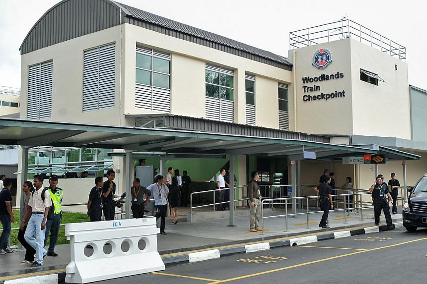 A joint operational exercise will be conducted by the Singapore Civil Defence Force (SCDF), the Singapore Police Force and the Immigration and Checkpoints Authority of Singapore at Woodlands Train Checkpoint, 11 Woodlands Crossing, on Jan 17, 2014. -