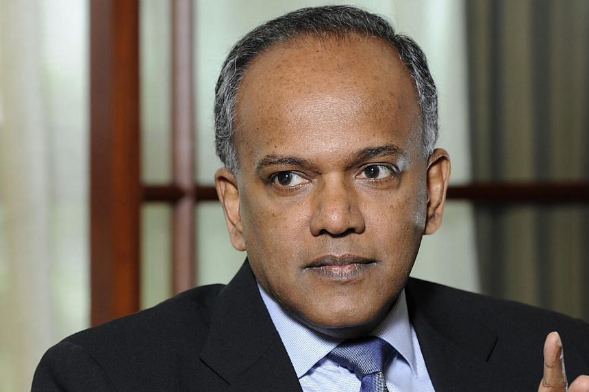 The Law Ministry has set up a committee to review homicide laws here, Law Minister K. Shanmugam said at a criminal law conference on Thursday. -- FILE PHOTO: BLOOMBERG