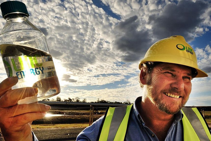 Linc Energy's chief executive Peter Bond. The Australian energy firm has received a payment of A$20 million (S$22.69 million) from South African coal miner Exxaro as part of an intellectual property licence agreement. -- PHOTO: LINC ENERGY