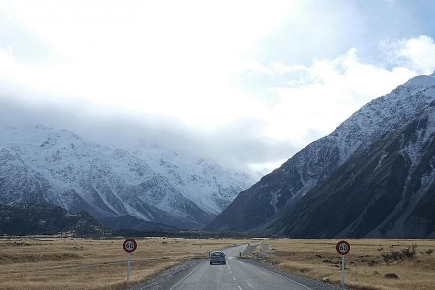 New Zealand's highest and most deadly peak, Mount Cook, a magnet for mountaineers from around the world, is shrinking according to surveyors who have lowered it by 30 metres. -- ST PHOTO: DESMOND LIM