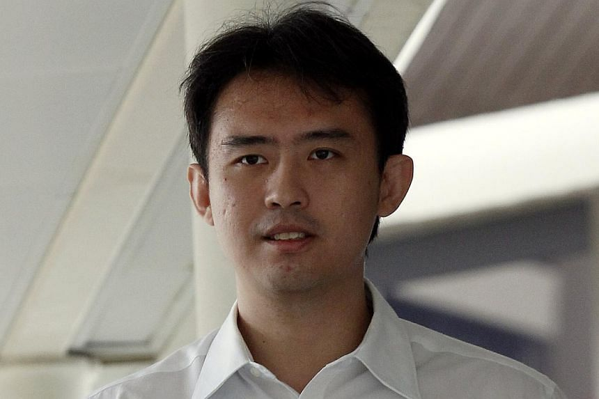 Chua Ren Cheng, a formerteacher with River Valley High School, pleaded guilty on Monday to having commercial sex with a minor.-- ST PHOTO: WONG KWAI CHOW