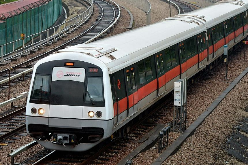 Train services on the North-South line between Sembawang and Marina Bay stations have resumed, train operator SMRT said in a Twitter update at about 9.50am. Free bus and shuttle services, which were activated after a train fault caused a delay, have