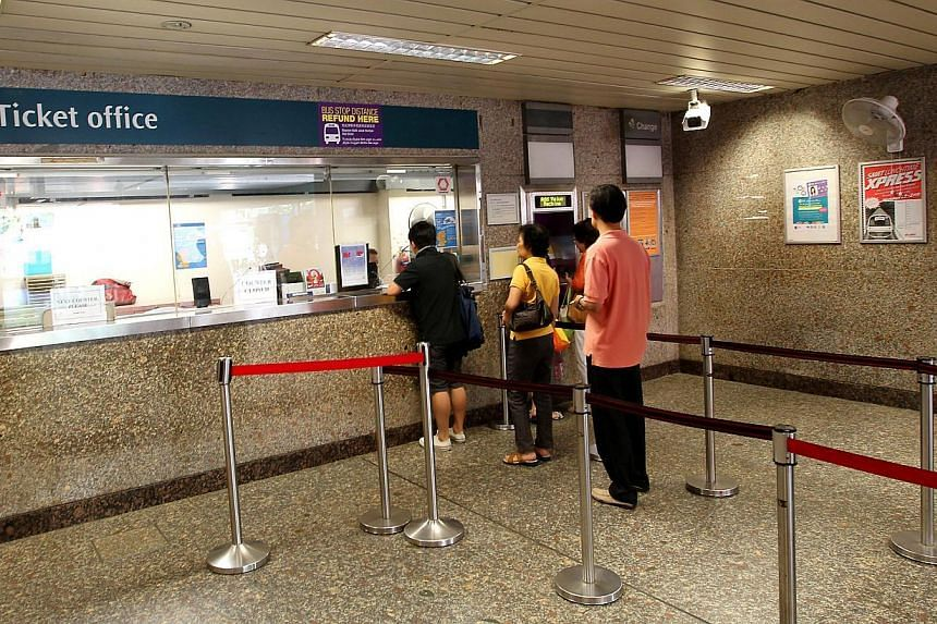 Commuters who own MasterCard credit cards will be able to use them to buy or top up ez-link cards. -- TNP FILE PHOTO:HEDY KHOO