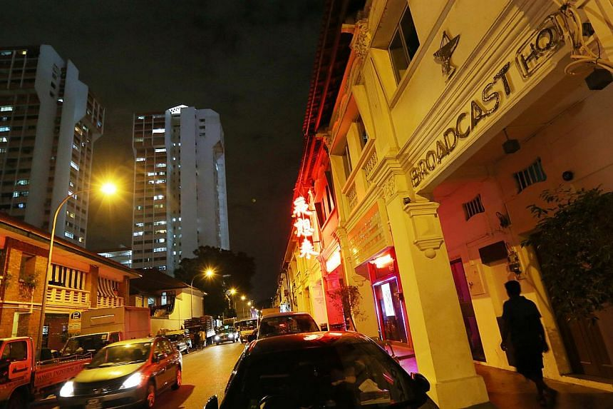 Restaurant and music venue Broadcast HQ was not granted a licence for live music and dancing because of the many existing KTV lounges in the area, Second Minister for Home Affairs S Iswaran said in Parliament on Tuesday, Jan 21, 2014. -- FILE PHOTO: