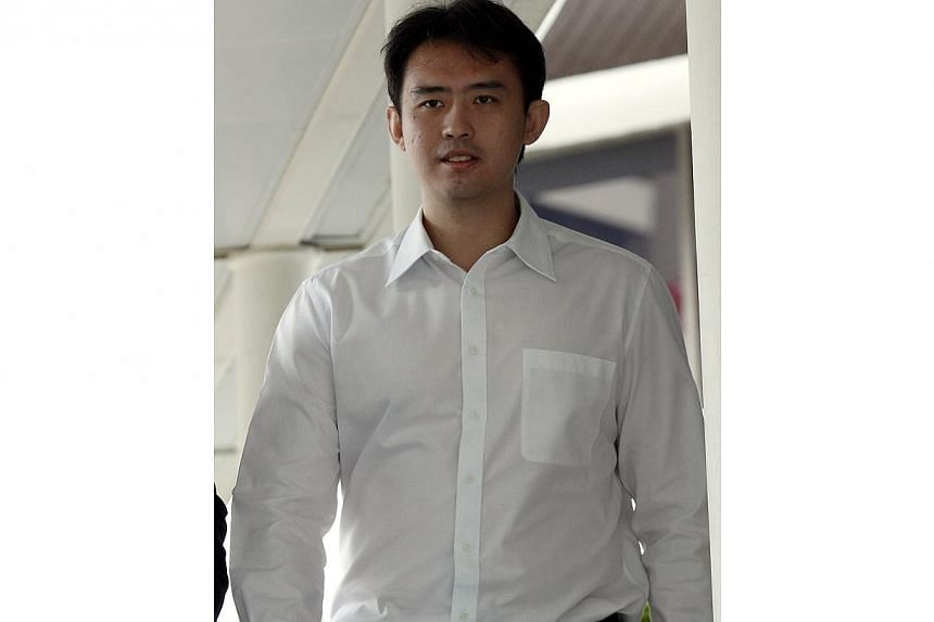 Former River Valley High School teacher Chua Ren Cheng, 33, was jailed for three months on Jan 22, 2014, after he admitted having paid for sex with an underage prostitute. -- ST PHOTO: WONG KWAI CHOW