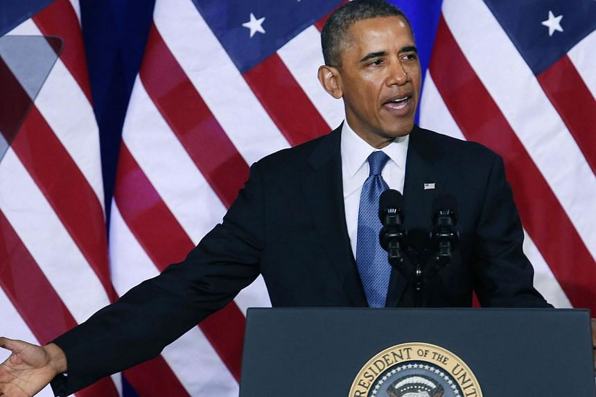 United States President Barack Obama speaks about the National Security Agency at the Justice Department, on Jan 17, 2014 in Washington, DC. MrObama will invite 47 leaders to a landmark US-Africa summit in August, seeking to widen US trade, dev