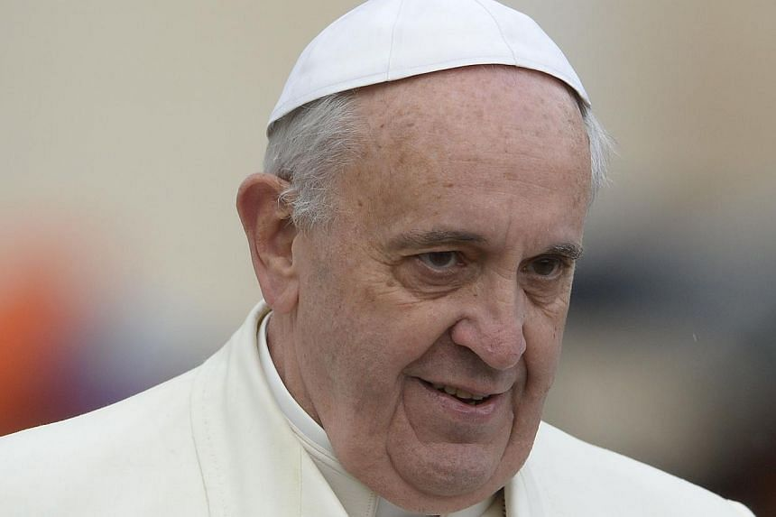 Pope Francis may visit South Korea next summer as part of a possible trip to Asia, a Vatican spokesman said on Wednesday, Jan 22, 2014. -- PHOTO: AFP