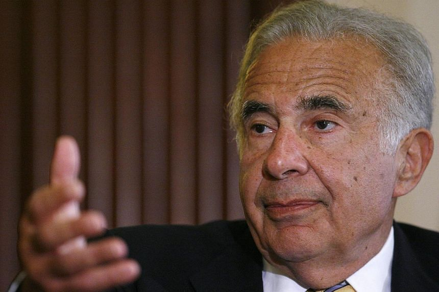 Investor Carl Icahn speaks at the Wall Street Journal Deals & Deal Makers conference at the New York Stock Exchange on June 27, 2007.EBay Inc on Wednesday said Mr Icahn made a non-binding proposal for the e-commerce company to spin off its