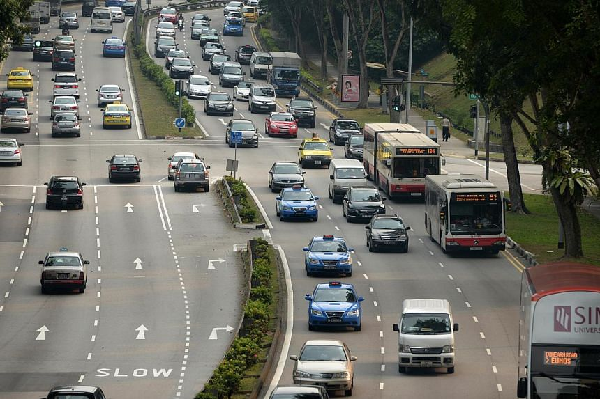 A new motor insurance policy specially designed for elderly drivers has been rolled out by the Automobile Association of Singapore (AAS). -- ST FILE PHOTO: CAROLINE CHIA