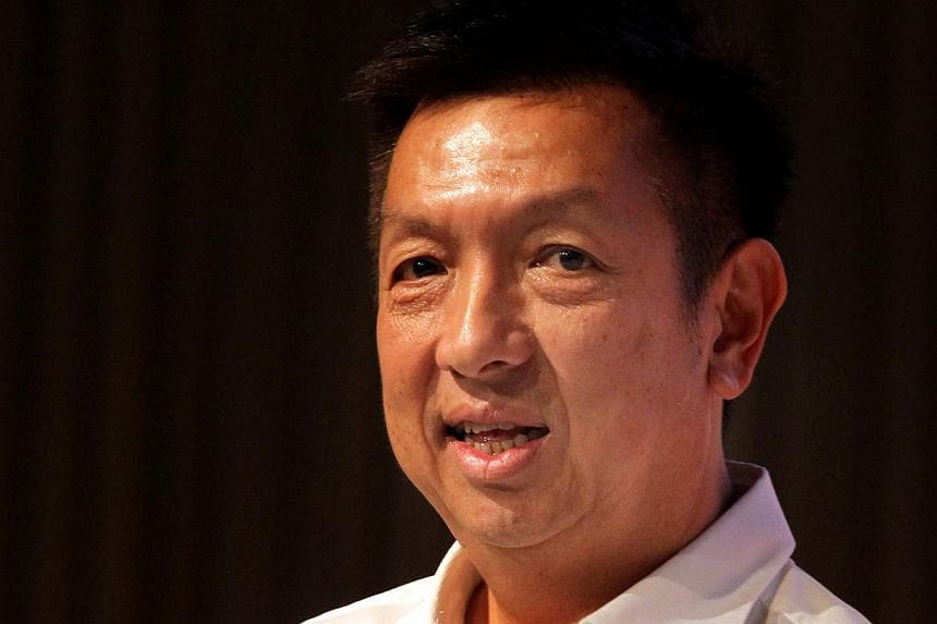 Peter Lim's dreams of owning a football club has been dashed for a second time when his bid for La Liga side Valencia was rejected by the team's creditors Bankia. -- ST FILE PHOTO:CHEW SENG KIM