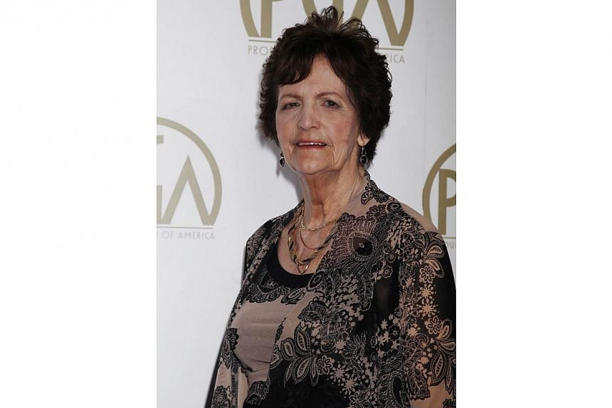 "Philomena Lee, whose life was featured in the Oscar Best Picture nominated film ""Philomena"", arrives at the 25th Annual Producers Guild of America Awards in Beverly Hills, California on Jan 19, 2014.The 80-year-old Irish woman who inspired the Osca"