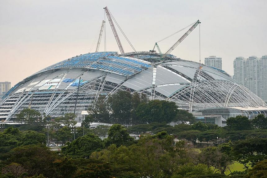 The SEA Games will be staged at the Sports Hub (above). -- ST PHOTO: KUA CHEE SIONG