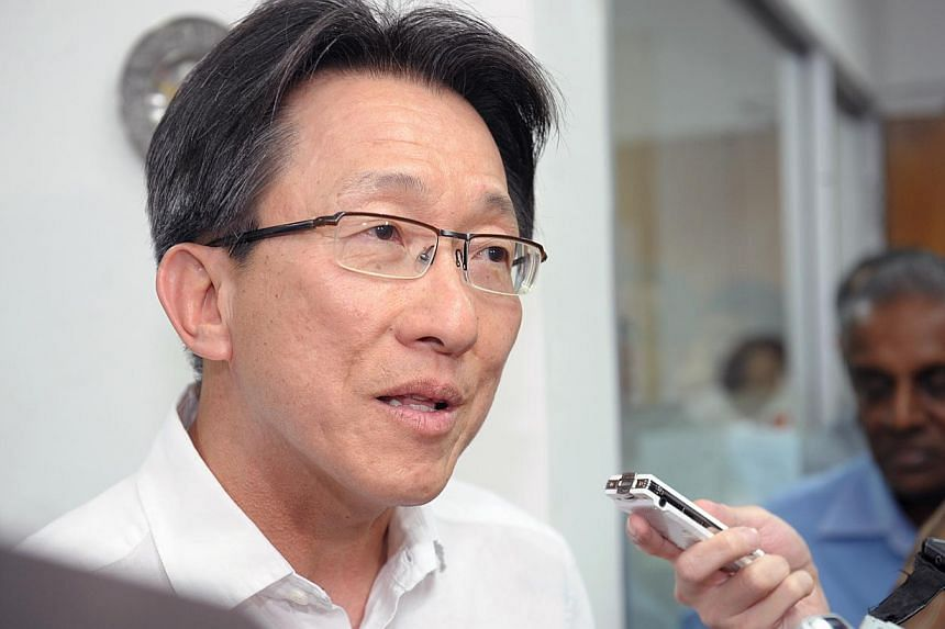 Labour chief Lim Swee Say has declared his interest to run in East Coast GRC in the next general election, saying he hopes for more time to implement the plans he has for the ageing constituency. -- ST FILE PHOTO:DESMOND WEE