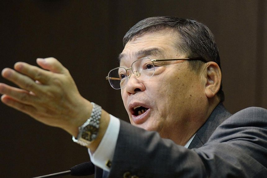 Katsuto Momii, the new chairman of Japan's influential public broadcaster NHK, speaks during a news conference in Tokyo, in this Jan 25, 2014 photo.The head of Japan's public broadcaster expressed regret on Monday, Jan 27, 2014 for his comments