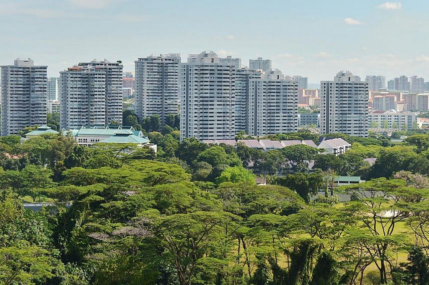 The last of Singapore's 18 HUDC estates, Braddell View, has been designated for privatisation, said the Ministry of National Development on Tuesday. -- ST PHOTO: ALPHONSUS CHERN