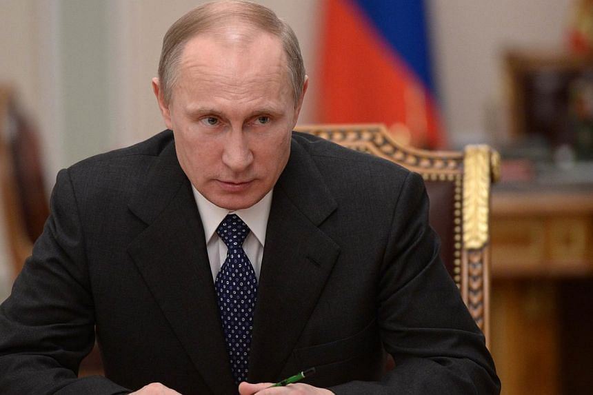 Russia's President Vladimir Putin chairs a meeting of the Security Council at the Novo-Ogaryovo residence, outside Moscow, on Jan 24, 2014.President Vladimir Putin will be too busy to meet a descendant of Holocaust hero Raoul Wallenberg who has